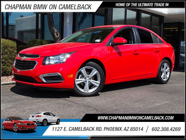 2015 Chevrolet Cruze LT 36409 miles 60238522861127 E Camelback Rd Chapman Value center on C