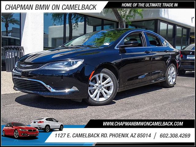 2015 Chrysler 200 Limited 40544 miles 60238522861127 E Camelback Rd Chapman Value center on
