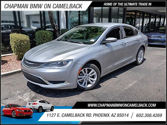 2015 Chrysler 200 Limited 36550 miles 60238522861127 E Camelback Rd Chapman Value center on