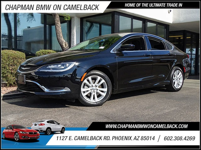 2015 Chrysler 200 Limited 37891 miles Wireless data link Bluetooth Cruise co