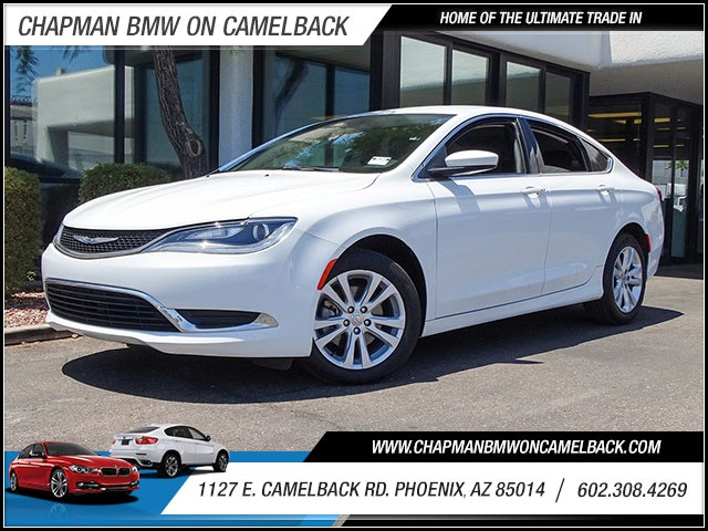 2015 Chrysler 200 Limited 40443 miles Wireless data link Bluetooth Cruise control Anti-theft sy