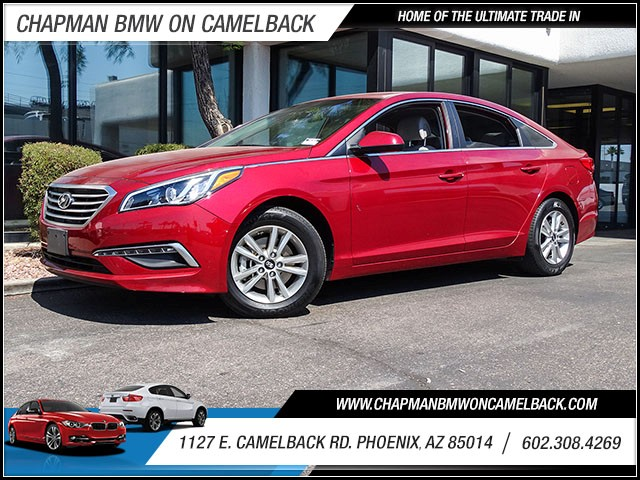 2015 Hyundai Sonata SE 36622 miles 60238522861127 E Camelback Rd Chapman Value center on Ca