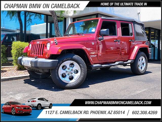 2013 Jeep Wrangler Unlimited Sahara 41438 miles 60238522861127 E Camelback Rd Chapman Value