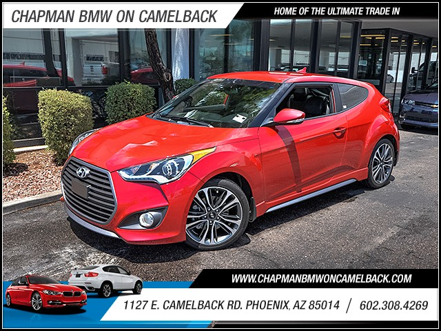2016 Hyundai Veloster Turbo 7831 miles Wireless data link Bluetooth Cruise control Power door l