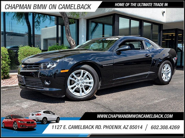 2015 Chevrolet Camaro LT 24322 miles 60238522861127 E Camelback Rd Chapman Value center on