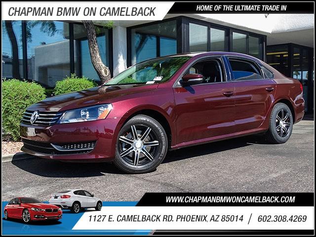2013 Volkswagen Passat S PZEV 65791 miles 60238522861127 E Camelback Rd Chapman Value cente