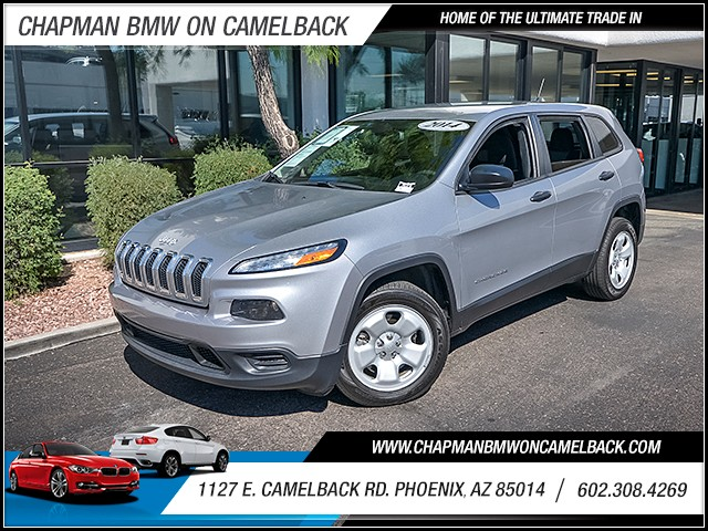2014 Jeep Cherokee Sport 81839 miles 6023852286 1127 E Camelback Rd Chapman Value center on