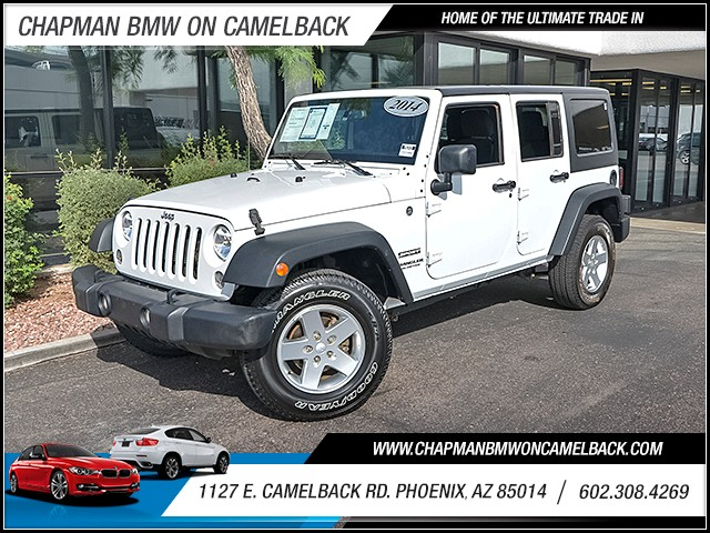 2014 Jeep Wrangler Unlimited Sport 36563 miles Cruise control Anti-theft system alarm 2-stage