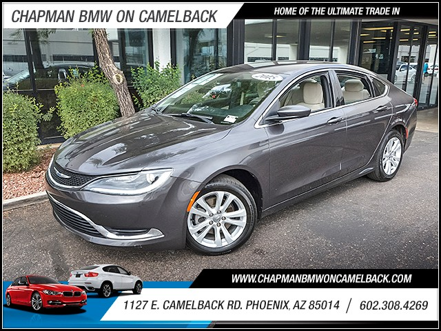 2015 Chrysler 200 Limited 40858 miles Wireless data link Bluetooth Cruise control Anti-theft sy