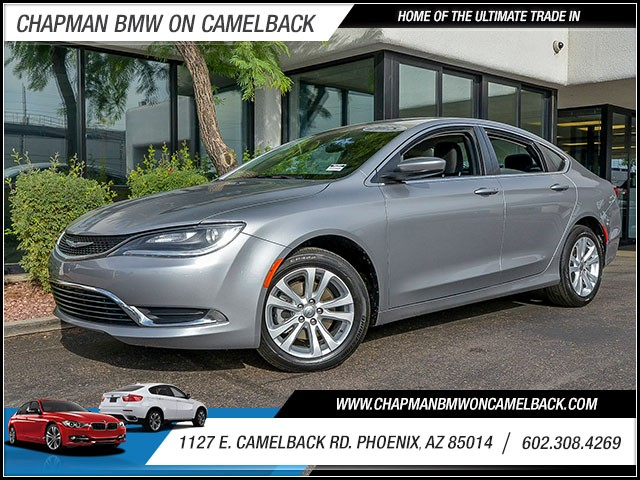 2015 Chrysler 200 Limited 40970 miles Wireless data link Bluetooth Cruise control Anti-theft sy