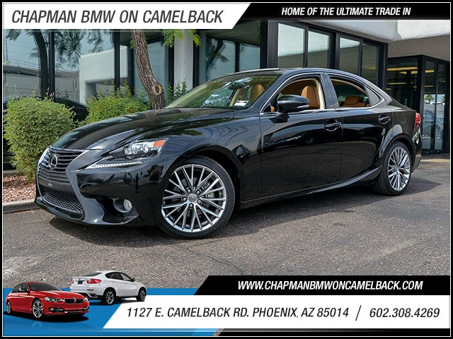 2014 Lexus IS 250 11734 miles Wireless data link Bluetooth Phone pre-wired for phone Phone voic