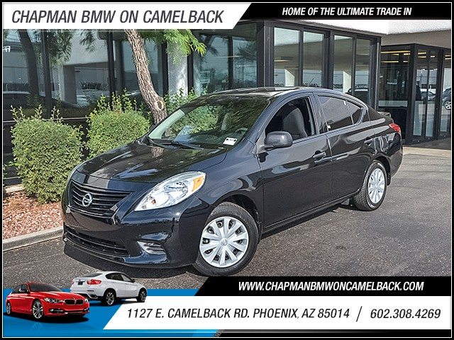 2014 Nissan Versa 16 S 43477 miles Steering wheel tilt Front wipers intermittent Window defog