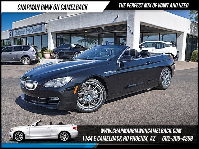 2012 BMW 6-Series 650i 12913 miles Cold Weather Package Driving Assistance Package Luxury Seati