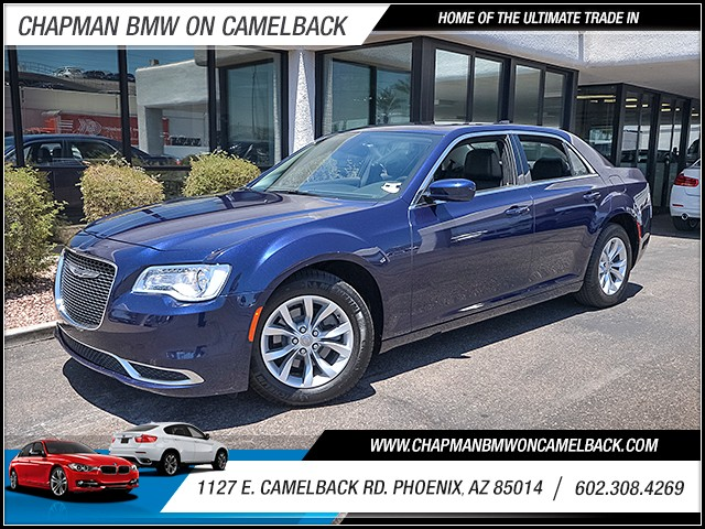 2016 Chrysler 300 Limited 12223 miles Wireless data link Bluetooth Cruise control Anti-theft sy