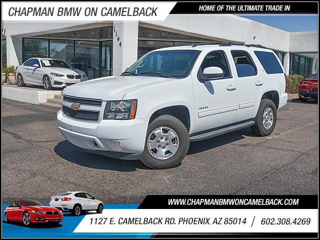 2013 Chevrolet Tahoe LT 75475 miles Phone hands free Wireless data link Bluetooth Satellite com