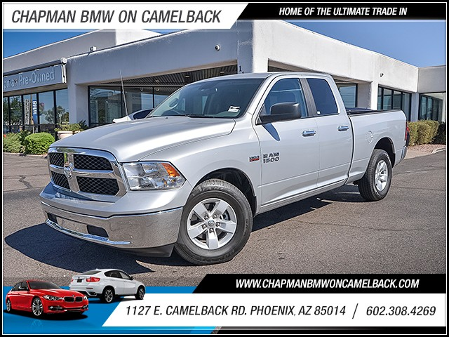 2017 Ram 1500 SLT Extended Cab 13781 miles Wireless data link Bluetooth Cruise control 2-stage