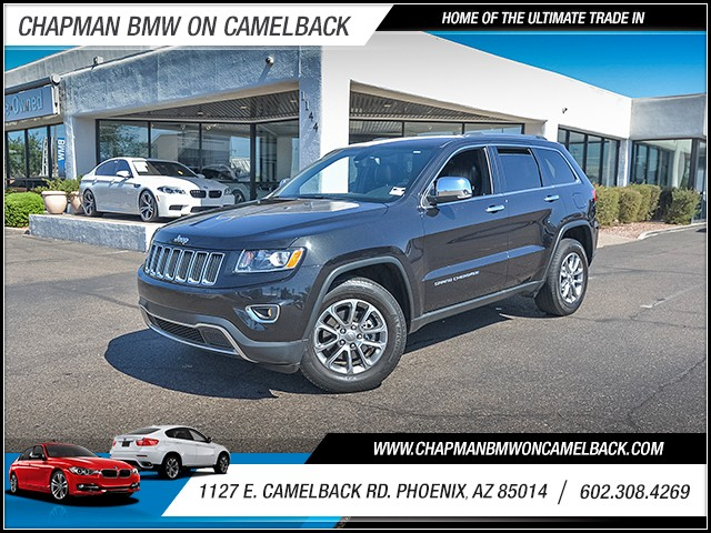 2015 Jeep Grand Cherokee Limited 42919 miles Wireless data link Bluetooth Phone hands free Crui