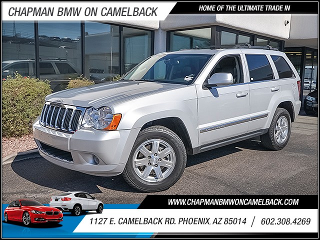 2009 Jeep Grand Cherokee Limited 62138 miles Cruise control Navigation system hard drive Parkin