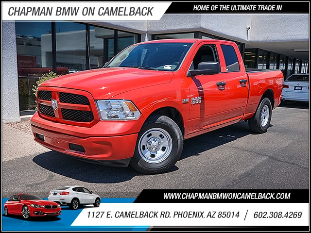 2016 Ram 1500 Tradesman Extended Cab 15687 miles Cruise control Power door locks Steering wheel