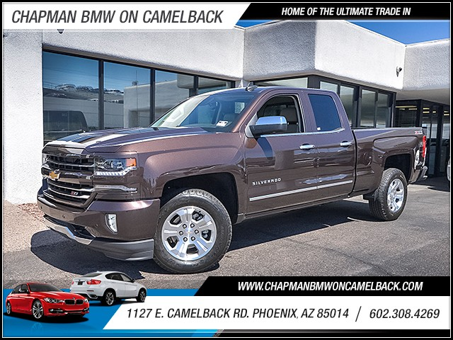 2016 Chevrolet Silverado 1500 LTZ Extended Cab 11851 miles Wireless data link Bluetooth Wifi hot