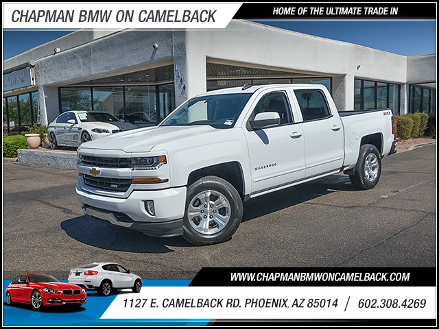 2017 Chevrolet Silverado 1500 LT Crew Cab 18624 miles Phone voice operated Wireless data link Bl