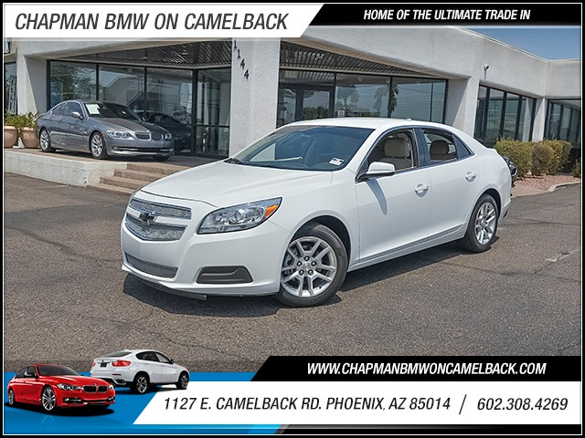 2013 Chevrolet Malibu Eco 74400 miles Wireless data link Bluetooth Phone voice operated Satelli