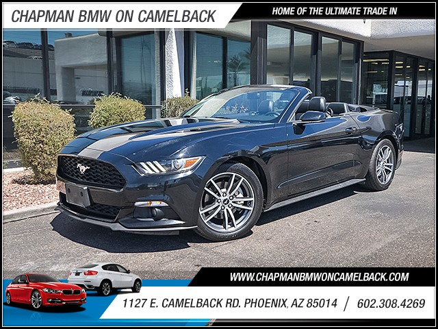 2015 Ford Mustang EcoBoost Premium 50243 miles Wireless data link Bluetooth Phone hands free Ph