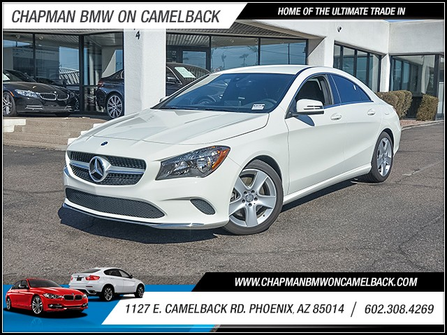 2017 Mercedes CLA-Class CLA 250 8650 miles Chapman Value Center on Camelback is specializing in l