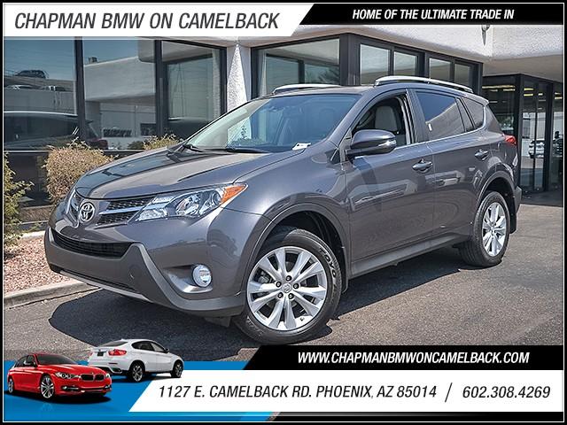 2014 Toyota RAV4 Limited 40988 miles 6023852286 1127 E Camelback Rd Summer Monsoon Sales Even