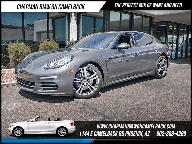 2014 Porsche Panamera 40030 miles Wireless data link Bluetooth Phone hands free Cruise control