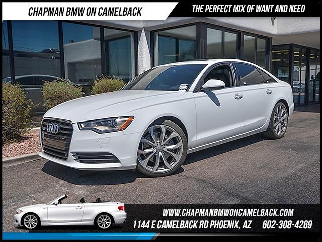 2015 Audi A6 20T quattro Prem Plus 43985 miles Chapman Value Center on Camelback is specializing