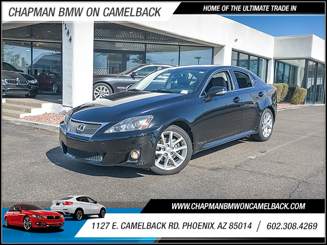 2013 Lexus IS 250 50819 miles Wireless data link Bluetooth Cruise control 2-stage unlocking doo