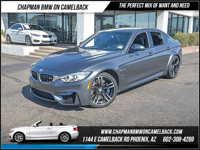 2016 BMW M3 17904 miles Phone hands free Real time traffic Driver assistance app roadside assis