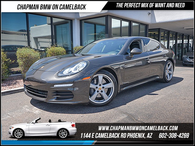 2016 Porsche Panamera 26636 miles Phone hands free Wireless data link Bluetooth Cruise control
