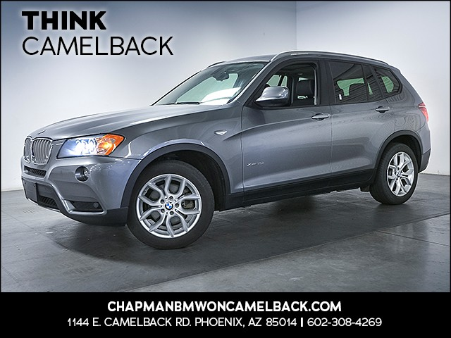 2013 BMW X3 xDrive35i 63794 miles Technology Package Premium Package Cold Weather Package Sate