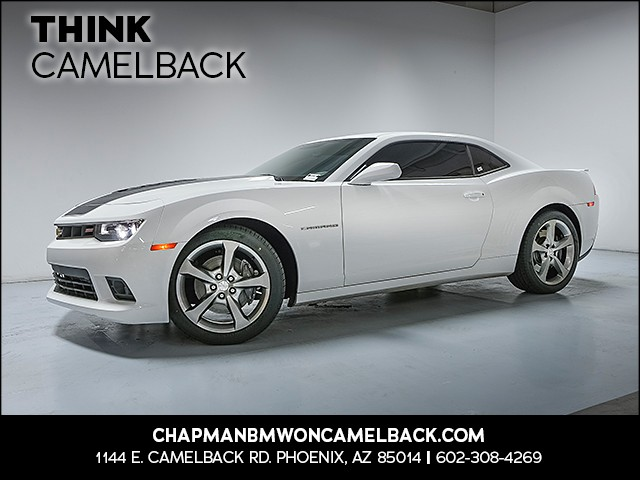 2014 Chevrolet Camaro SS 53267 miles VIN 2G1FJ1EJ6E9182551 For more information contact our i