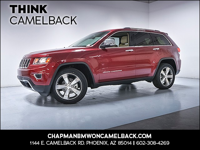 2014 Jeep Grand Cherokee Limited 56589 miles VIN 1C4RJFBG0EC101532 For more information conta