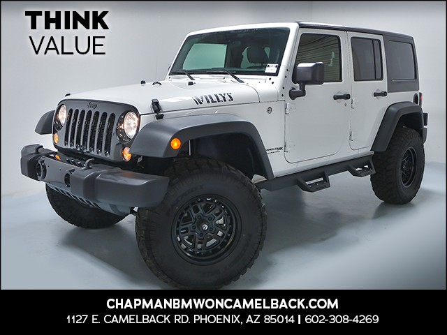 2018 Jeep Wrangler Unlimited Willys Wheeler 12332 miles 6023852286 Chapman Value Center in Pho