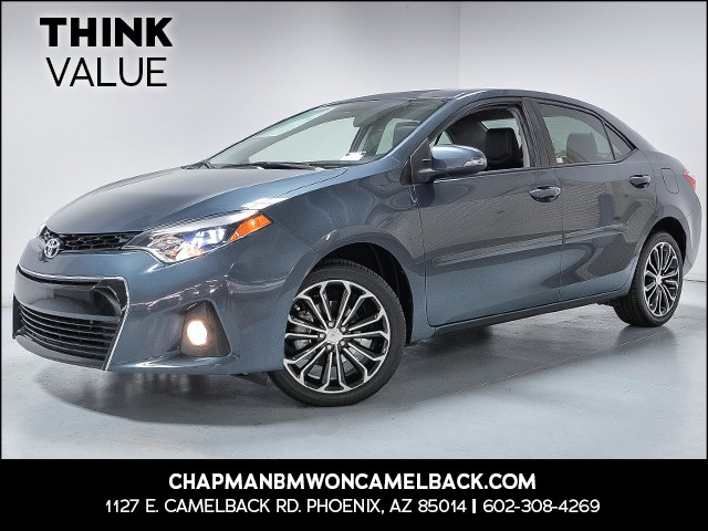2016 Toyota Corolla S 24606 miles 6023852286 Chapman Value Center in Phoenix specializing in l