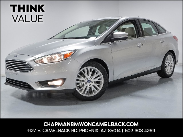 2017 Ford Focus Titanium 30393 miles VIN 1FADP3J22HL288070 For more information contact our i