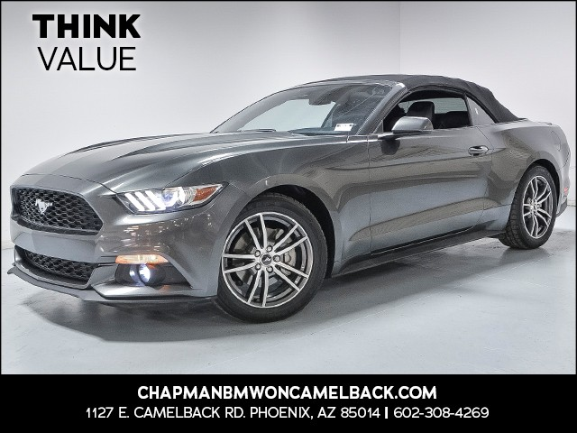 2016 Ford Mustang EcoBoost Premium 34631 miles 6023852286 Chapman Value Center in Phoenix spec