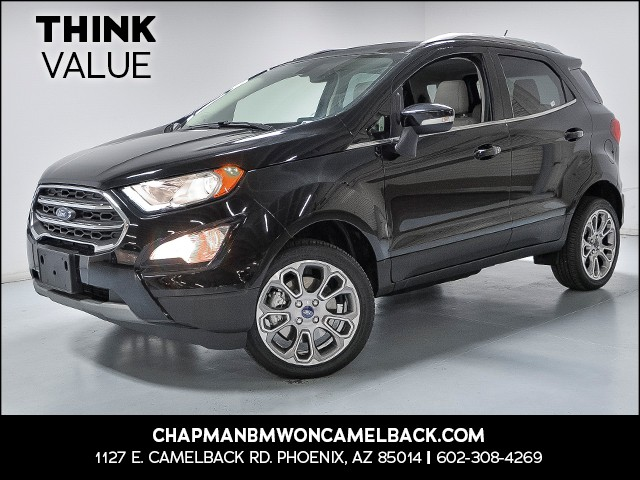 2018 Ford EcoSport Titanium 15739 miles VIN MAJ6P1WL6JC187859 For more information contact ou