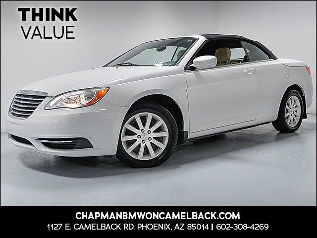 2011 Chrysler 200 Conv Touring 51915 miles VIN 1C3BC2EB5BN598229 For more information contact