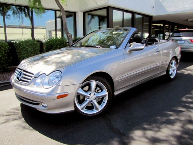 2005 Mercedes-Benz CLK-Class CLK320 Convertible in Phoenix