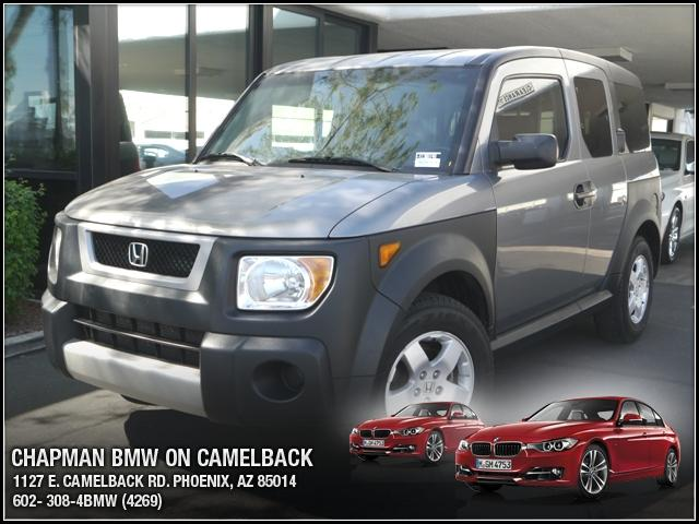 2005 Honda Element EX 119746 miles Chapman BMW is located at 12th and Camelback in Phoenix 602-385