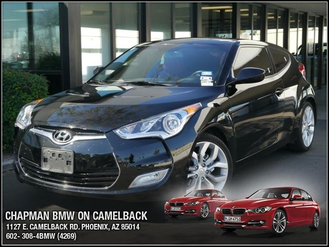 2012 Hyundai Veloster 14458 miles Chapman BMW is located at 12th and Camelback in Phoenix 602-385-