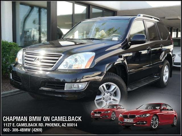 2007 Lexus GX 470 4WD 48908 miles Chapman BMW is located at 12th and Camelback in Phoenix 602-385-