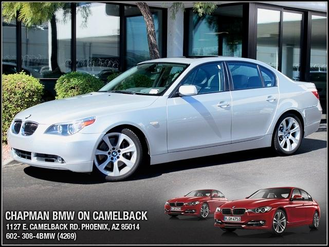 2007 BMW 5-Series 550i 52217 miles 1127 E Camelback BUY WITH CONFIDENCE Chapman BMW is lo