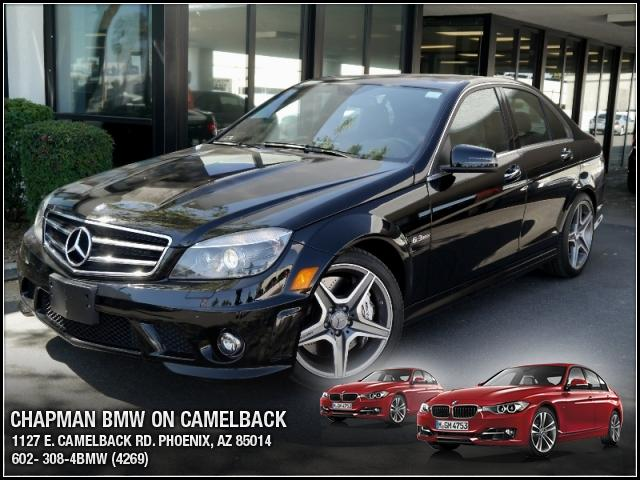2011 Mercedes C-Class 63L AMG 13993 miles Chapman BMW is located at 12th and Camelback in Phoenix