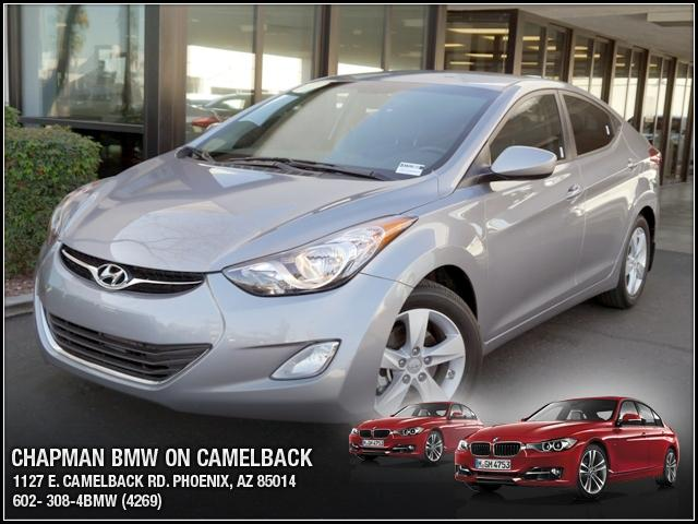 2013 Hyundai Elantra 14388 miles Chapman BMW is located at 12th and Camelback in Phoenix 602-385-2